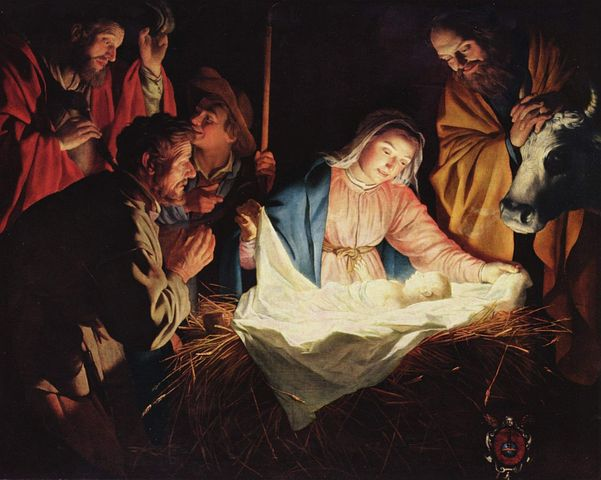 Christmas, Crib, Stall, Bethlehem