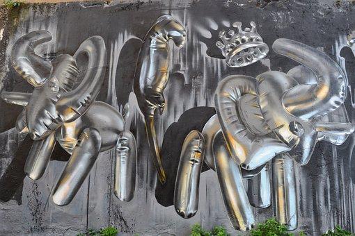 Art, Route, Peinture, Londres