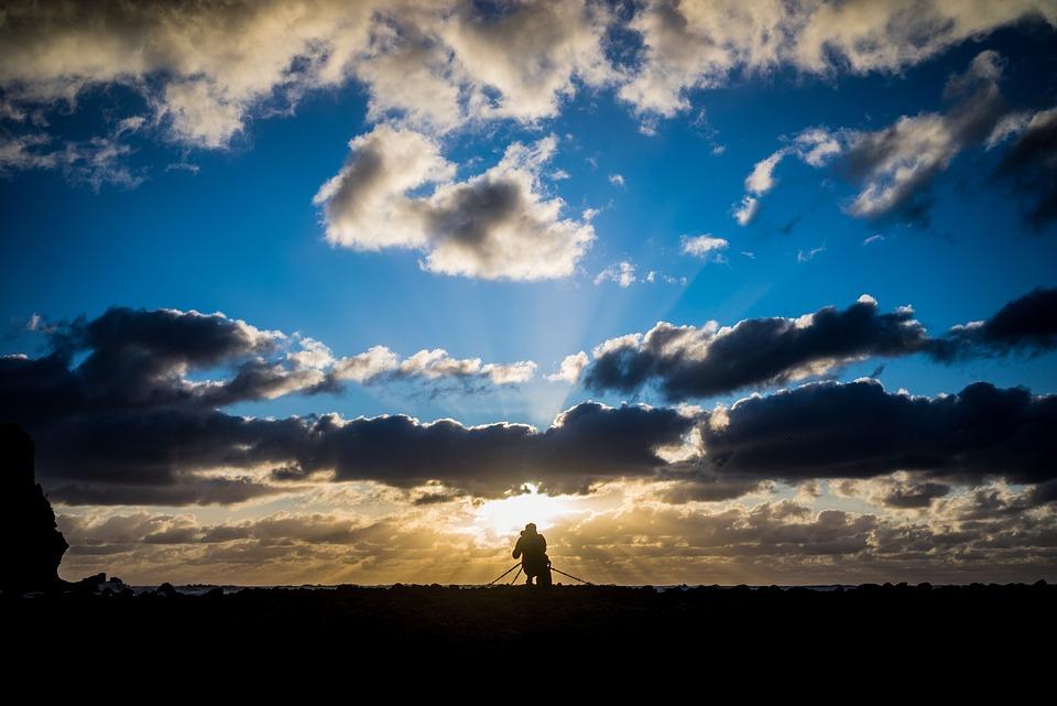 Sunset Scene Beach · Free Photo On Pixabay