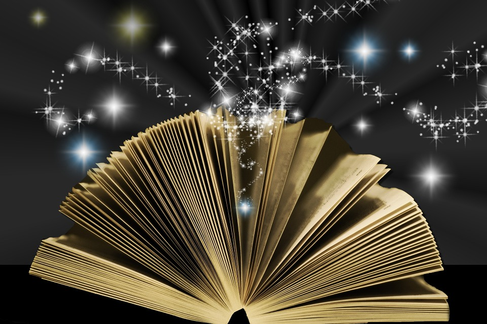 Image result for magic book graphic Pixabay