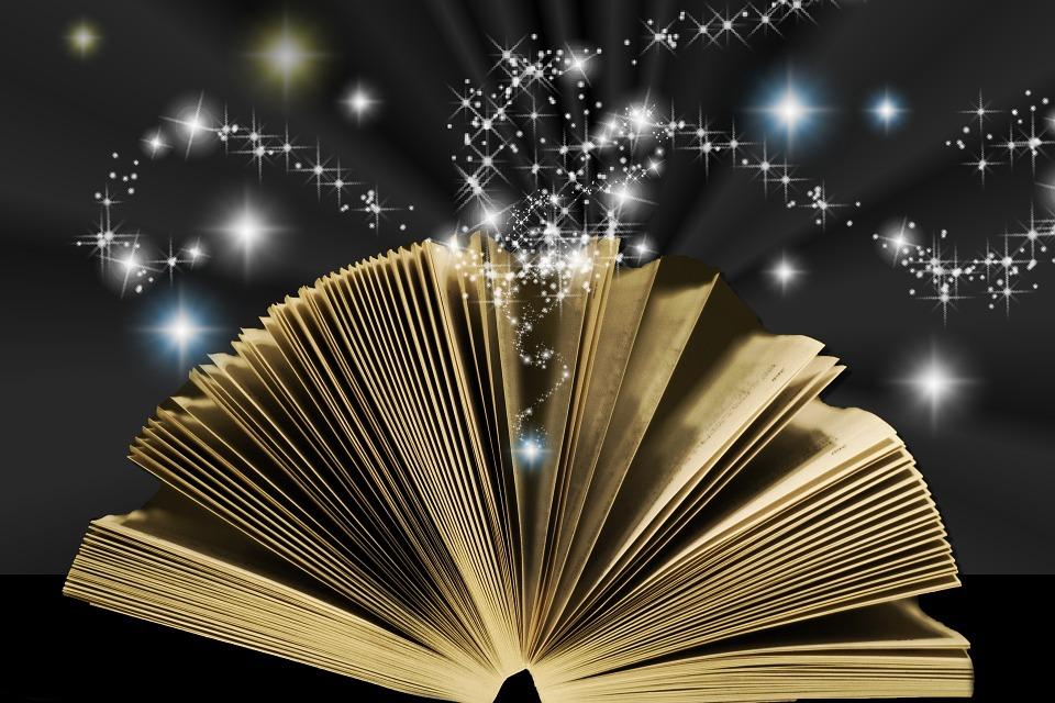 Assez Illustration gratuite: Livre, Star, Magie, Magic - Image gratuite  OU52