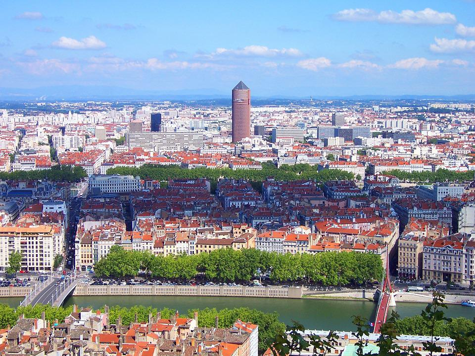 Lyon ville france paysage photo gratuite sur pixabay for Paysage de ville