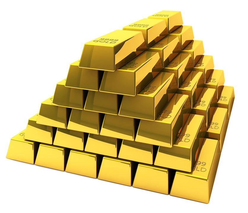 Emas, Emas Batangan, Bar, Feingold, Bank, Bursa Saham
