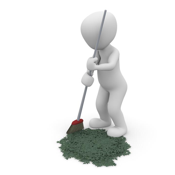 Limpiar, Barrido, Repasar, Make Clean, Limpia, Escoba