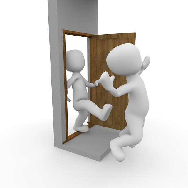 Free Illustration Door Apartment Input Blocked Free