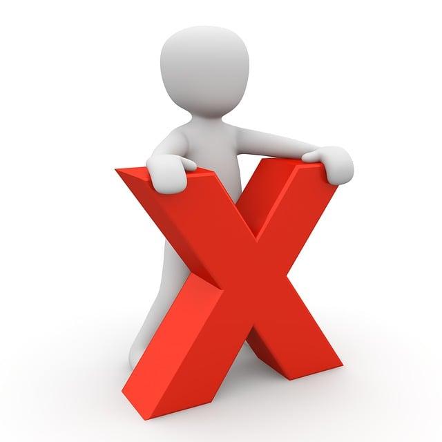 Proches annuler croix image gratuite sur pixabay - Mobel entsorgung gratis ...