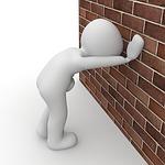 drunk, wall, ill