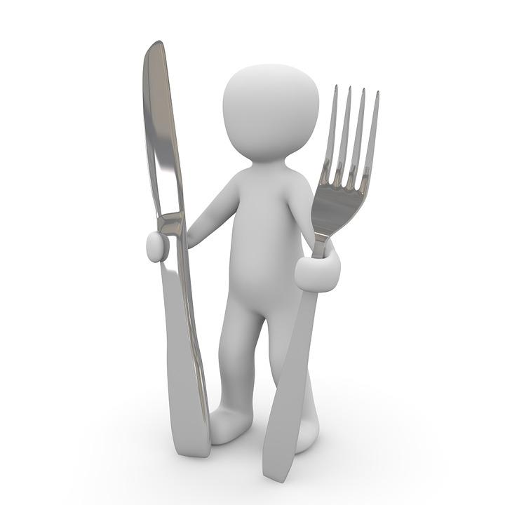 Jíst, Vidlice, Nůž, Dobrý, Chuť K Jídlu, Příbory
