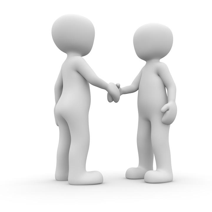 Winkels, Partnerschap, Samenwerking, Zakenlieden