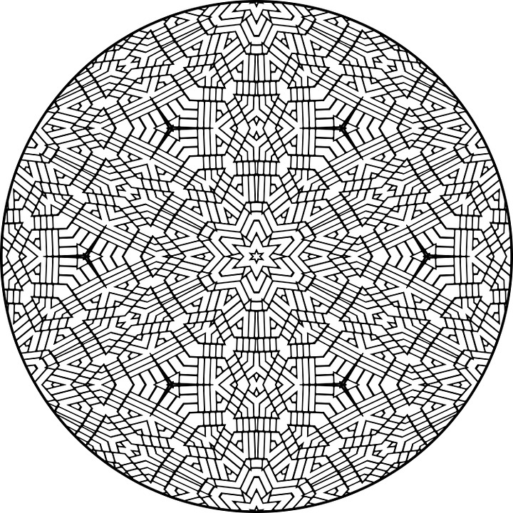 mandala pattern colour design indian circle - Pattern Pictures To Colour