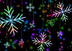 Snowflakes, Snow, Winter, Christmas
