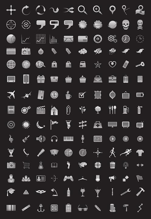 Icons Web Icon Library - Free image on Pixabay