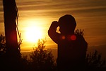 sunset, love, peace