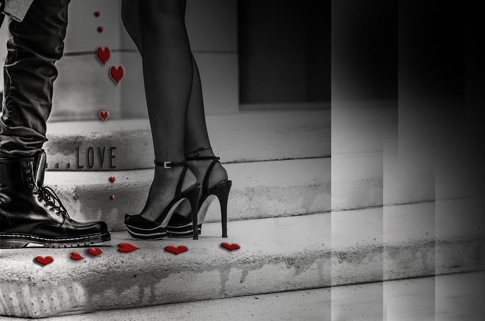 Sessualità, Amore, Coppia, Gambe, Scarpe, Relazione