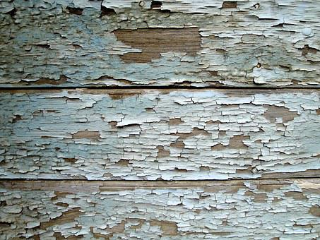 Old House Background Texture Wood Blue Tur