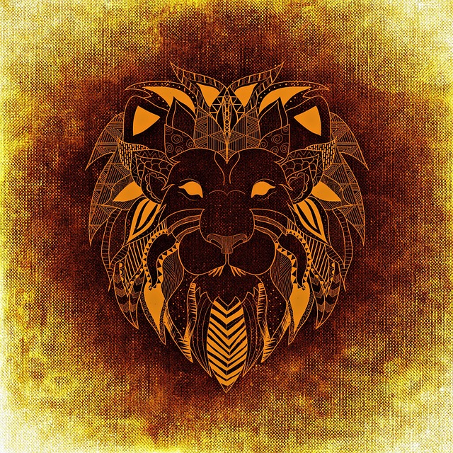 Free illustration: Lion, Wild Animal, Abstract - Free ... | 640 x 640 jpeg 293kB