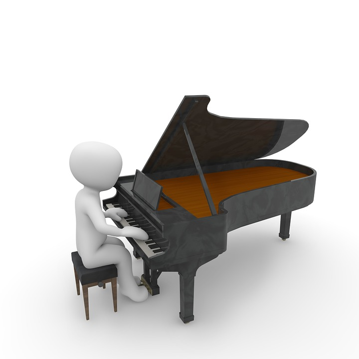 Free Illustration Piano Wing Music Sound Free Image