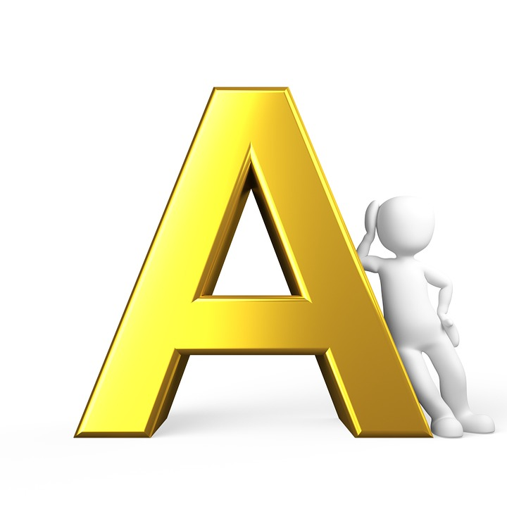 awesome A&c Kitchen And Bath #9: A, Letter, Alphabet, Alphabetically, Abc