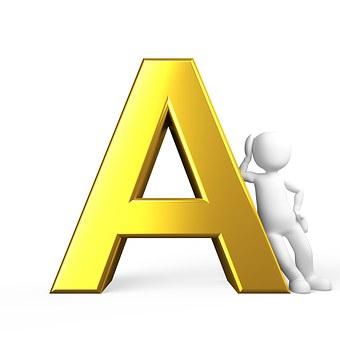 A, Lettera, Alfabeto
