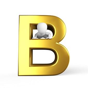 B, Lettera, Alfabeto