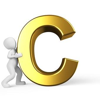 C, Lettera, Alfabeto