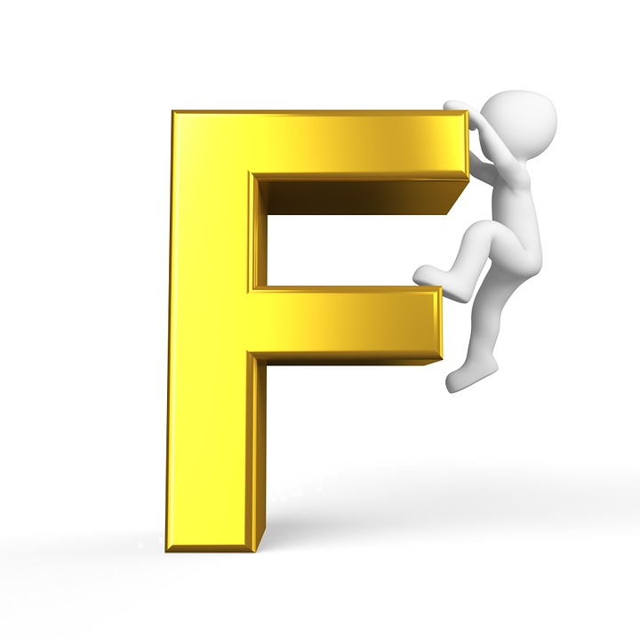 High Quality F Letter Alphabet Alphabetically Abc