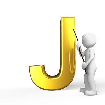 J, Lettera, Alfabeto