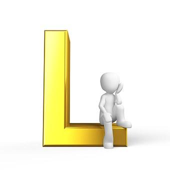L, Lettera, Alfabeto