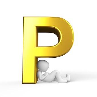 P, Lettera, Alfabeto