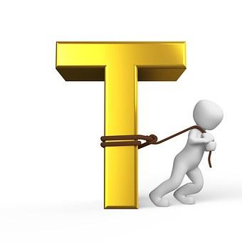 T, Lettera, Alfabeto