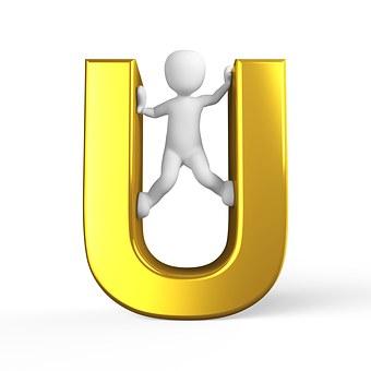 U, Lettera, Alfabeto