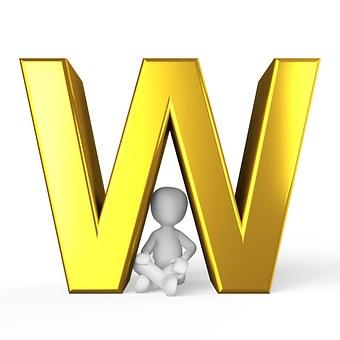 W, Lettera, Alfabeto
