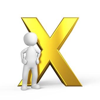 X, Lettera, Alfabeto