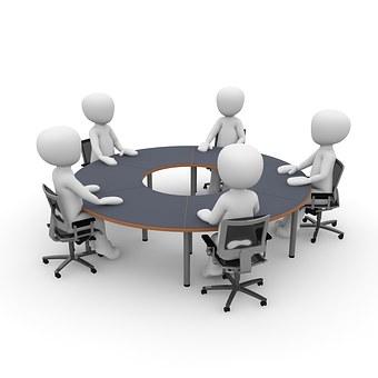 Riunione, Cooperazione, Personale