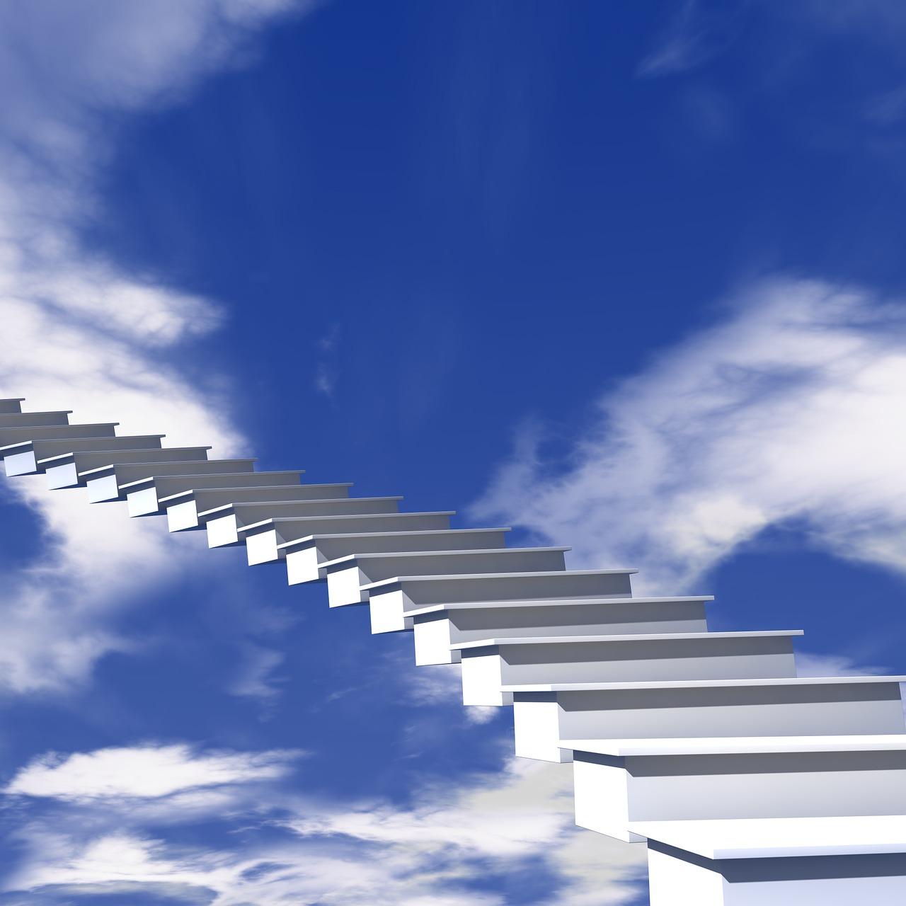 картинка лестница в небо избежание расхождения полотен