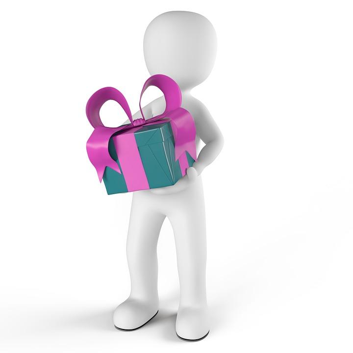 Geschenk, Verpackt, Eingepackt, Überraschung