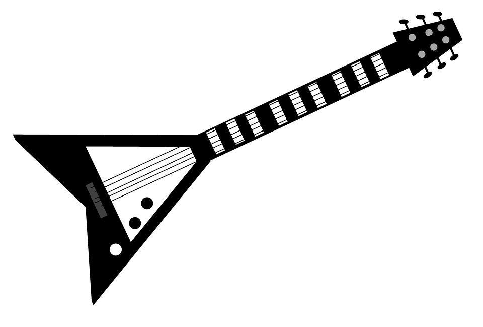 free illustration guitar electric guitar music free image on pixabay 1015832. Black Bedroom Furniture Sets. Home Design Ideas