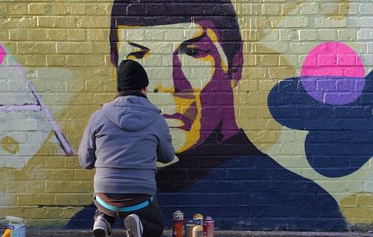 Graffiti, Spock, Leonard Nimoy