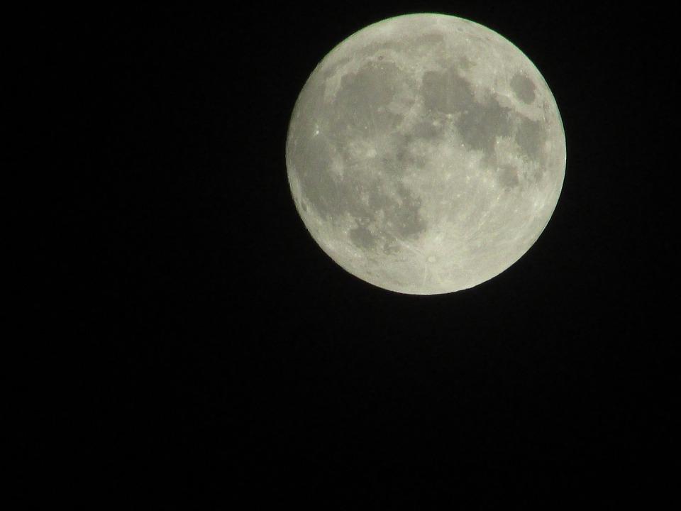 Gardening By The Moon Chart: Free photo: Moon Full Moon Night - Free Image on Pixabay - 1016560,Chart
