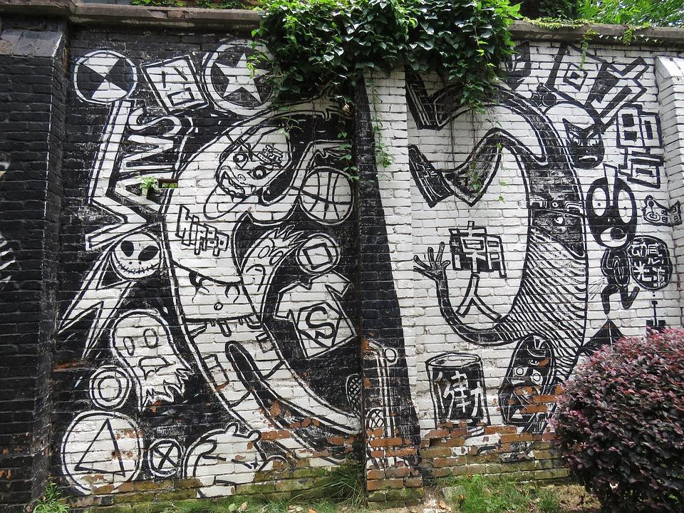 Graffiti Straße Wand · Kostenloses Foto auf Pixabay