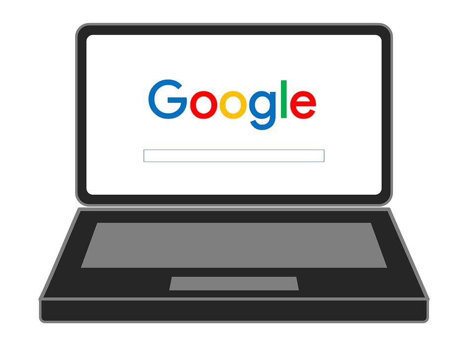 Google, ソ, ラップトップ, 検索, エンジン, 最適化, Google の検索