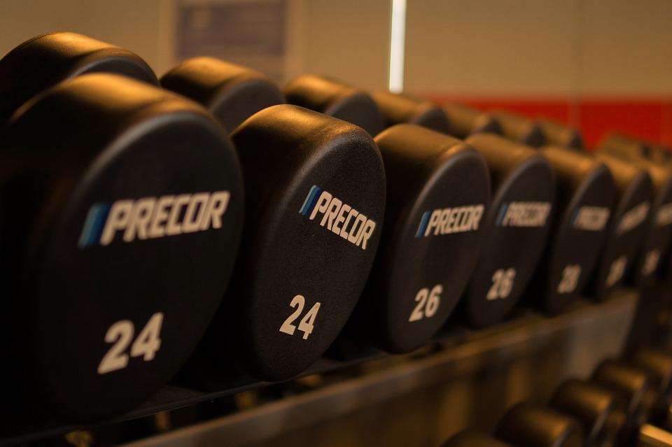 重量, 解除, ジム, 重量を持ち上げること, フィットネス, 運動, トレーニング, 健康, アクティブ