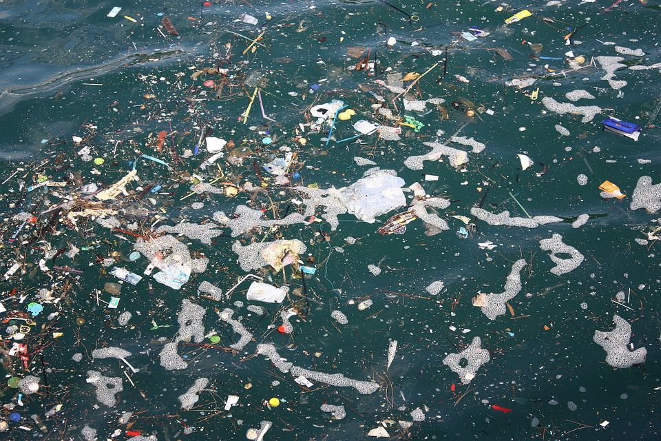 Sea, Oats, Garbage, Pollution