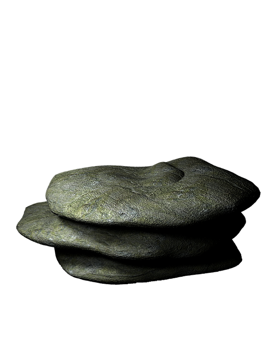 Rock Prop Transparent Background Stone Granite