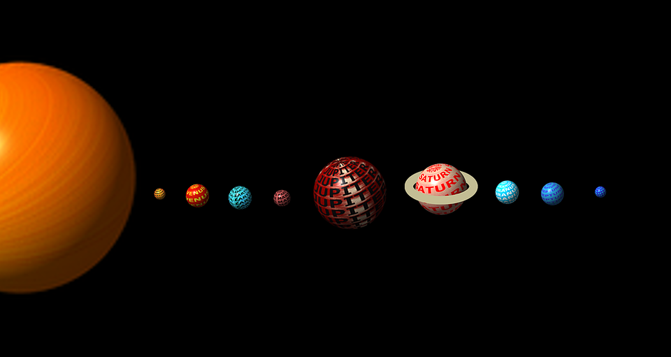 Solar System, Planets, Space, Earth, System, Science