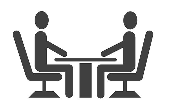 インタビュー, 仕事, アイコンを, 就職の面接, ビジネス, アプリケーション