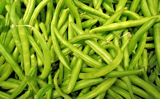 Green Beans Harvest Vegetable Raw Deliciou