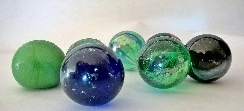 Marbles, Glaskugeln, Toys, Play, Roll, Glass