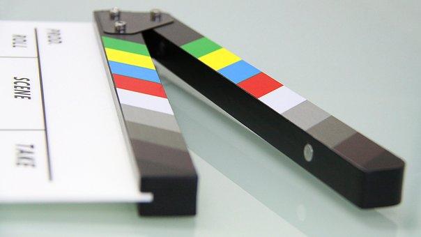 Clapper Board, Clapper, Movie, Film