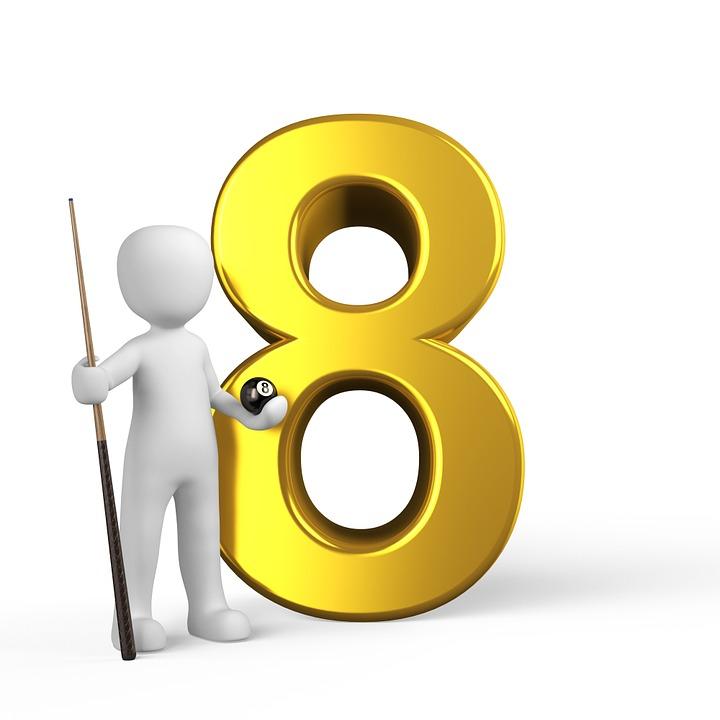 number 8 free images on pixabay